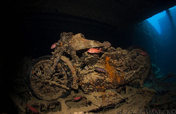 BSA Bikes At Thistlegorm Wreck